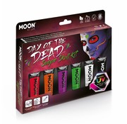 Moon Creations Moon-Glow Day of the dead UV Suger Skull box set