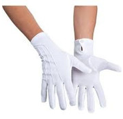 Handschoen wit kort mickey mouse