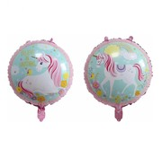 Joni's Winkel Folieballon Believe in unicorns 45x45cm