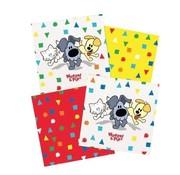 Woezel & Pip Servetten Woezel & Pip confetti 20 stuks