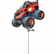Nickelodeon Folieballon Blaze & de monsterwielen 25x20 cm