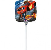 Nickelodeon Folieballon Blaze & de monsterwielen 23x23 cm