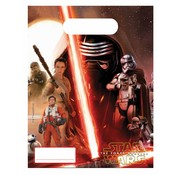 Star Wars Feestzakjes Star Wars The force Awakens 6 stuks