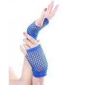 Joni's Winkel Vingerloze handschoen net blauw