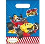 Disney Feestzakjes Mickey an the roadster Racers 6 Stuks