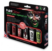 PaintGlow PaintGlow Liquid latex horror Kit