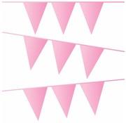 Haza Original Vlaggenlijn Baby roze 10 meter