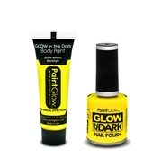 PaintGlow PaintGlow set LIGHT UP YELLOW!!!!!