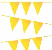 Haza Original Vlaggenlijn geel 10 meter