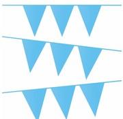 Haza Original Vlaggenlijn Baby blauw 10 meter