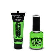 PaintGlow PaintGlow set LIGHT UP GREEN!!!!!