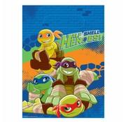 Amscan Feestzakjes Half shell heroes 8 stuks