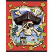 UNIQUE Uitdeelzakjes Piraat Seas 8 stuks