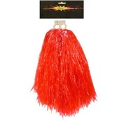 PartyXplosion Cheerball/pompom rood