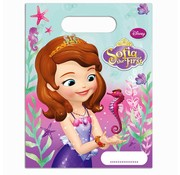 Disney Feestzakjes Sofia het prinsesje zeemeermin 6 stuks