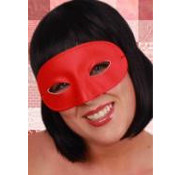 PartyXplosion Oogmasker rood