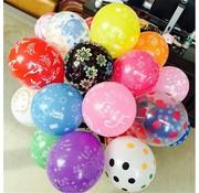Ballonnen mix 8 stuks 30 cm