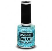 PaintGlow PaintGlow UV Glitter nagellak Ice Blue