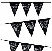 Haza Original Vlaggenlijn Let's get wasted 6 meter