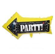 Joni's Winkel Folieballon Party Pijl 50x82 cm