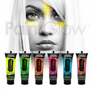 PaintGlow PaintGlow Multipack Body paint glitter UV 6in1
