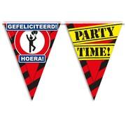 PaperDreams Vlaggenlijn Gefeliciteerd Hoera 10 meter