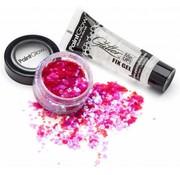 PaintGlow PaintGlow DuoPack Fix gel + Chunky Glitters Heart Breaker