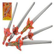 Opblaasbaar zwaard 91 cm