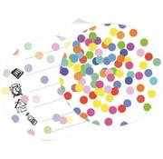 Haza Original Uitnodigingen Confetti 6 Stuks