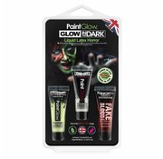 PaintGlow PaintGlow Hangpack  Glow in the dark Liquid latex