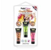 PaintGlow PaintGlow Hangpack Chunky Glitter Carnival Chaos