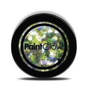 PaintGlow PaintGlow Chunky Unicorn UV Glitter shakers Lucky Lepricorn