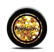 PaintGlow PaintGlow Chunky Unicorn UV Glitter shakers 24 Karat