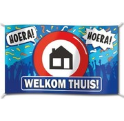 PaperDreams Gevelvlag Welkom thuis 90x150 cm