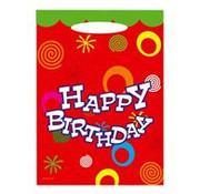 feestzakjes Happy Birthday 8 stuks