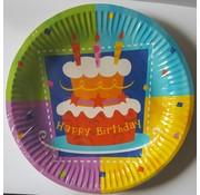 Borden Happy Birthday 6 stuks