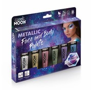 Moon Creations Moon-Cosmic Metalic Body & Face paint box set