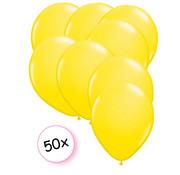 Ballonnen Geel 50 stuks 23 cm