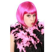 Boa Pink/Zwart 180 cm 75 Grams