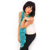 Boa sjaal Turquoise 200 cm