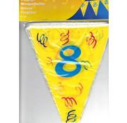 Boland Vlaggenlijn 8 Confetti 6 meter
