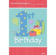 UNIQUE Uitdeelzakje 1st birthday cadeautjes 8 stuks