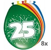 Folat Ballonnen 25 jaar, 8st.