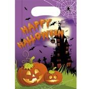 Procos Feestzakjes Halloween paars 6 stuks