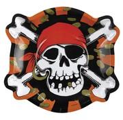 Riethmuller Borden Jolly Roger 25 cm 6 stuks