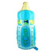 Joni's Winkel Grote XL Folie ballon fles It's a boy 70x40 cm