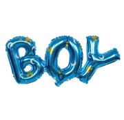 Joni's Winkel Folieballon Boy ster 91x36 cm