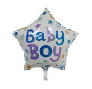 Joni's Winkel Ballon baby boy ster 45x45 cm
