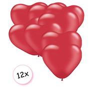 Joni's Winkel Ballonnen Hart Rood 12 stuks 26 cm
