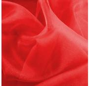 Joni's Winkel Organza/Tule 48x500 cm Rood